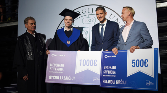 TELTONIKA HIGH-TECH HILL: Investing in new talents